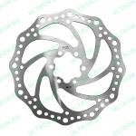 Тормозной диск 160 мм для Ultron T11, T108, T118, T128, Halten RS-03 2020 года