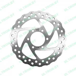 Тормозной диск 140 мм для Ultron X2